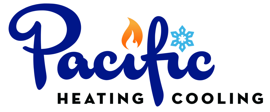 Pacific Heating & Cooling Logo