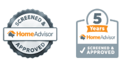 Pacific Heating and Cooling Badges Home Advisor 2